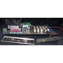 Материнская плата Asus P4PE (FireWire) с процессором Intel Pentium-4 2.4GHz s.478 и памятью 768Mb DDR1 Б/У (Копейск)
