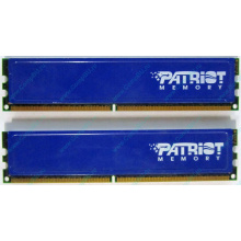 Память 1Gb (2x512Mb) DDR2 Patriot PSD251253381H pc4200 533MHz (Копейск)